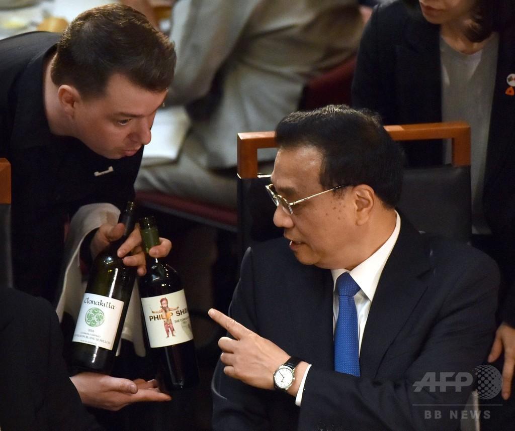 中国首相、南シナ海の軍事化を否定 人工島「主に民間目的」