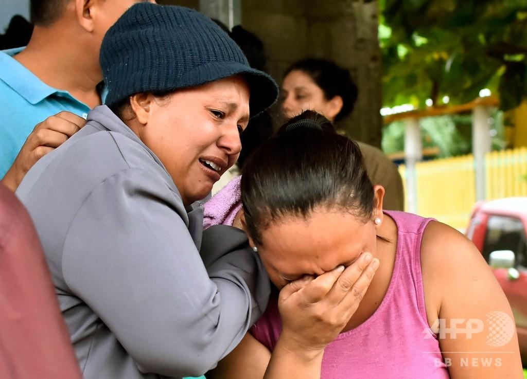 ホンジュラスの刑務所で衝突、収容者18人死亡 ギャングの抗争か