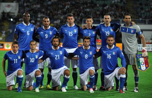イタリアはブルガリアとの初戦でドロー、W杯欧州予選