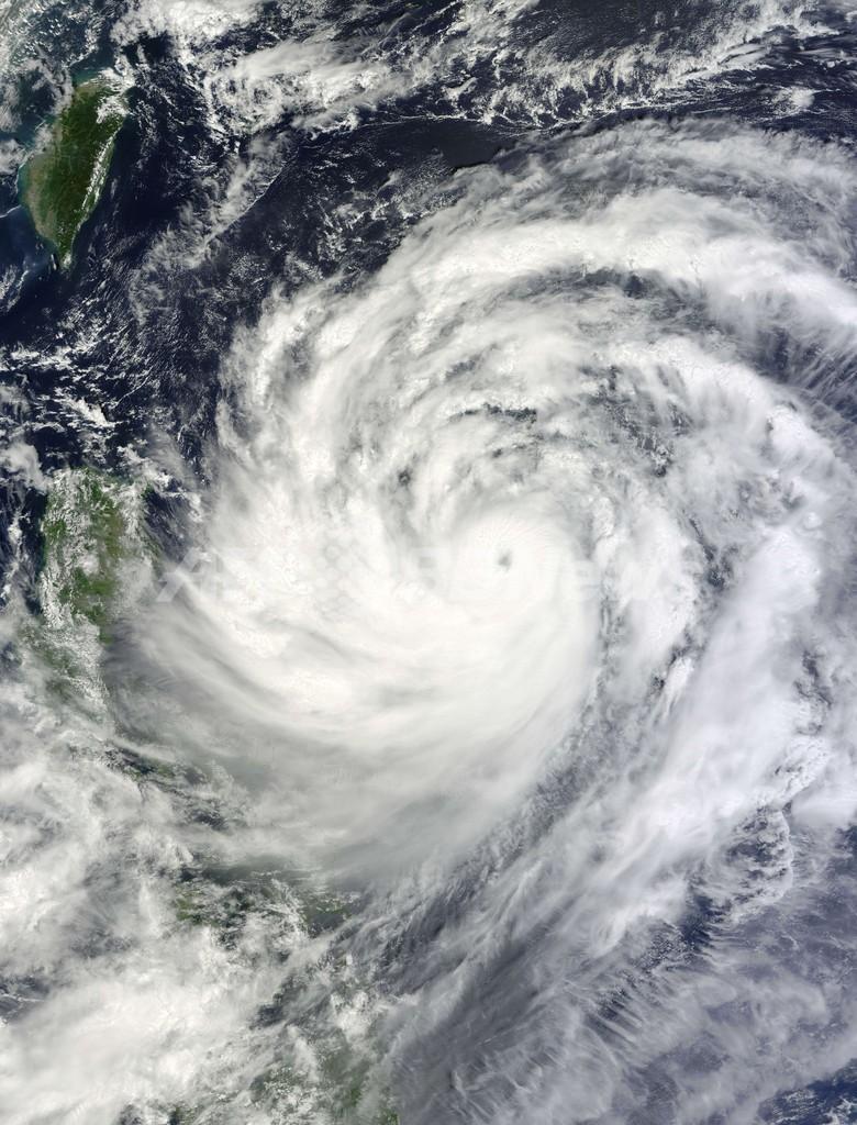 台風19号、台湾とフィリピンに接近し中国沿岸へ 写真2枚 国際