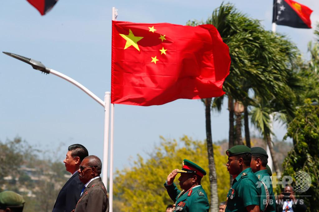 パプアニューギニア、中国に債務借り換え打診との発表撤回