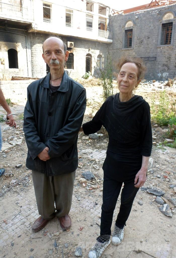 シリア反体制派、ホムス旧市街から撤退完了 がれきの街に住民戻る