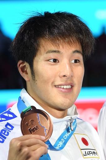 瀬戸が男子400m個人メドレーで銅、世界水泳