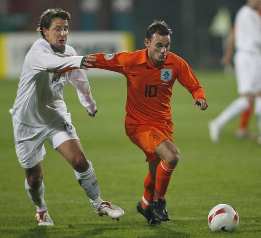<サッカー 欧州選手権2008・予選>オランダ アウェーでスロベニアを降し4勝目 - スロベニア