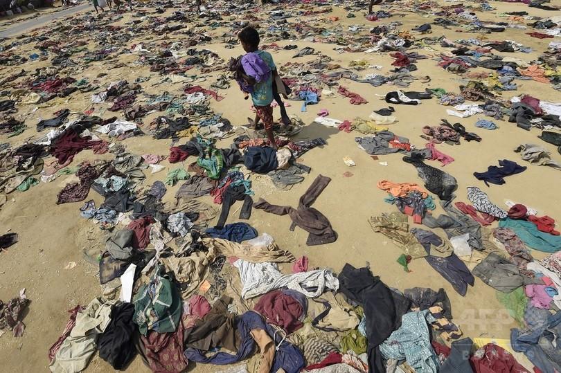 バングラデシュ、ロヒンギャの移動を制限 流入40万人超える