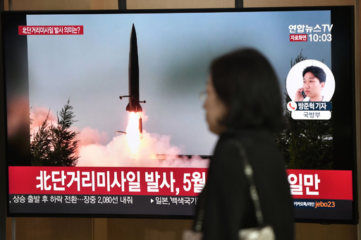 北朝鮮、飛翔体を発射 米韓の「政治的意志」欠如を批判