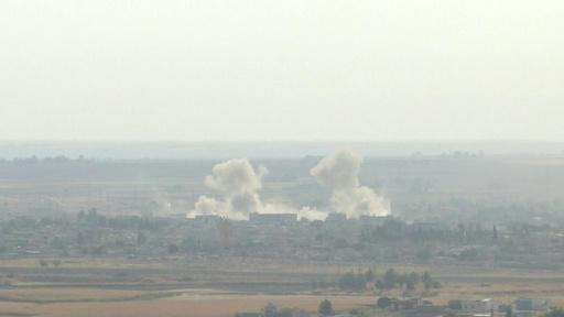 動画:シリア・トルコ国境で交戦続く 米軍撤収の空白にロシア部隊
