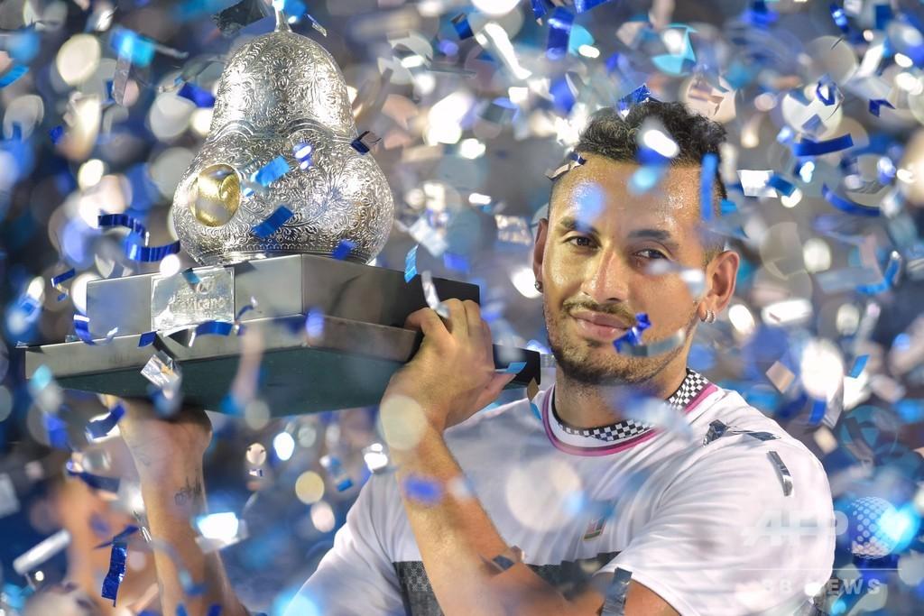キリオスがメキシコOP優勝、ズベレフ撃破で圧巻の1週間飾る
