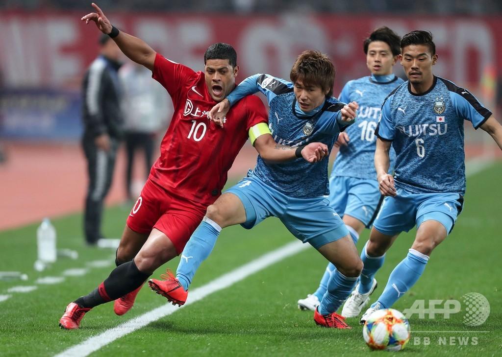 日中王者対決は上海上港に軍配、フッキが古巣川崎から決勝点 ACL