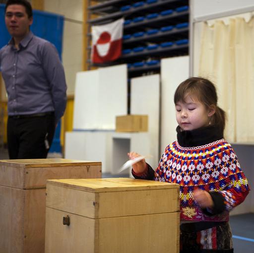 グリーンランドの自治権拡大案、圧倒的多数で承認