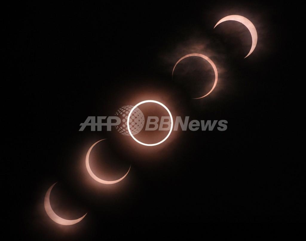 【写真特集】見えた!光の指輪、932年ぶり広域で金環日食