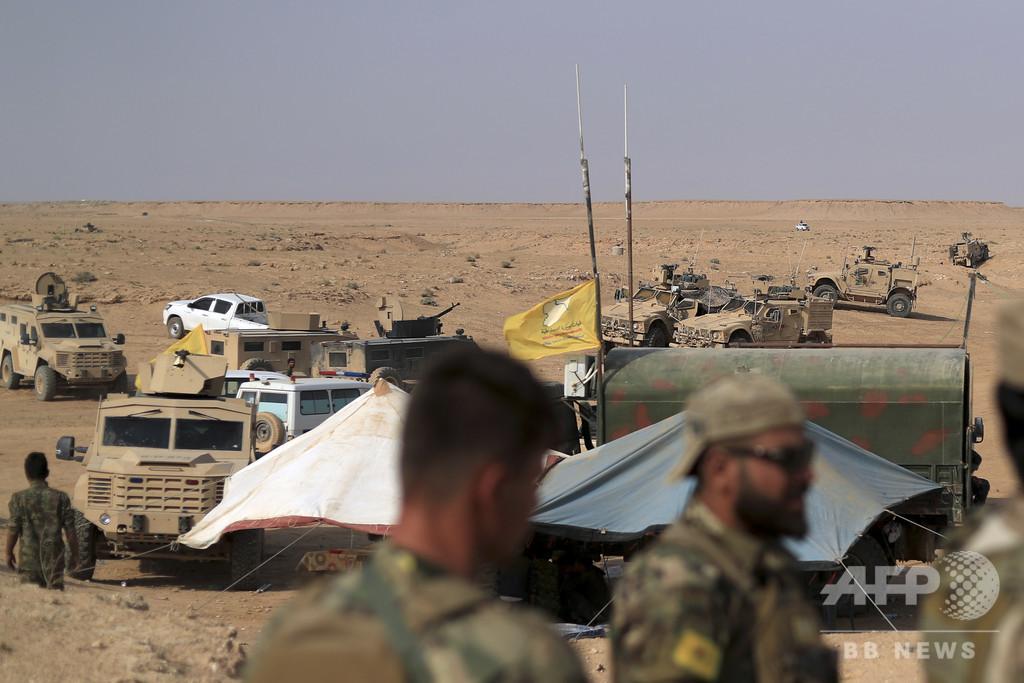 有志連合、シリアでIS幹部狙い空爆 米国人援助関係者の殺害に関与