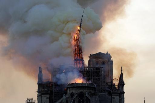 【記者コラム】ノートルダムの大火災