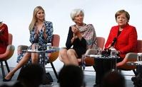 女性の活躍促す会議W20、イヴァンカ氏やメルケル独首相出席