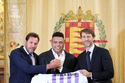 元ブラジル代表ロナウド氏、スペイン1部クラブを買収