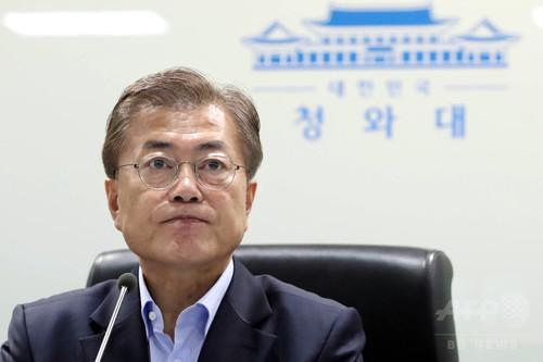 韓国大統領、北朝鮮との軍事衝突について「可能性高い」と警鐘