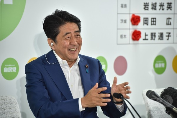 安倍首相、参議院選挙で勝利宣言