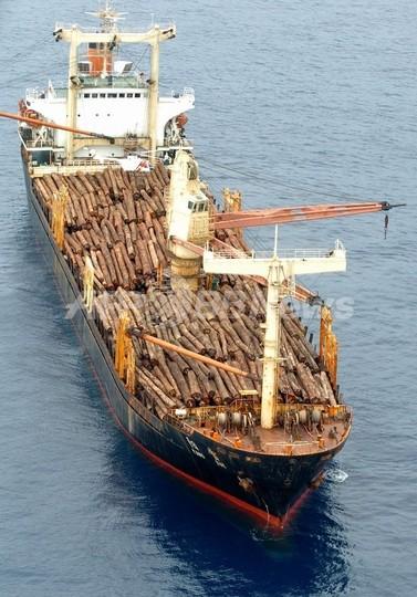 中国貨物船がフィリピン沖で沈没、2人が行方不明