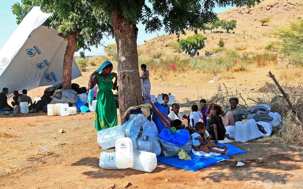 エチオピア難民2万5000人、受け入れに苦闘するスーダン