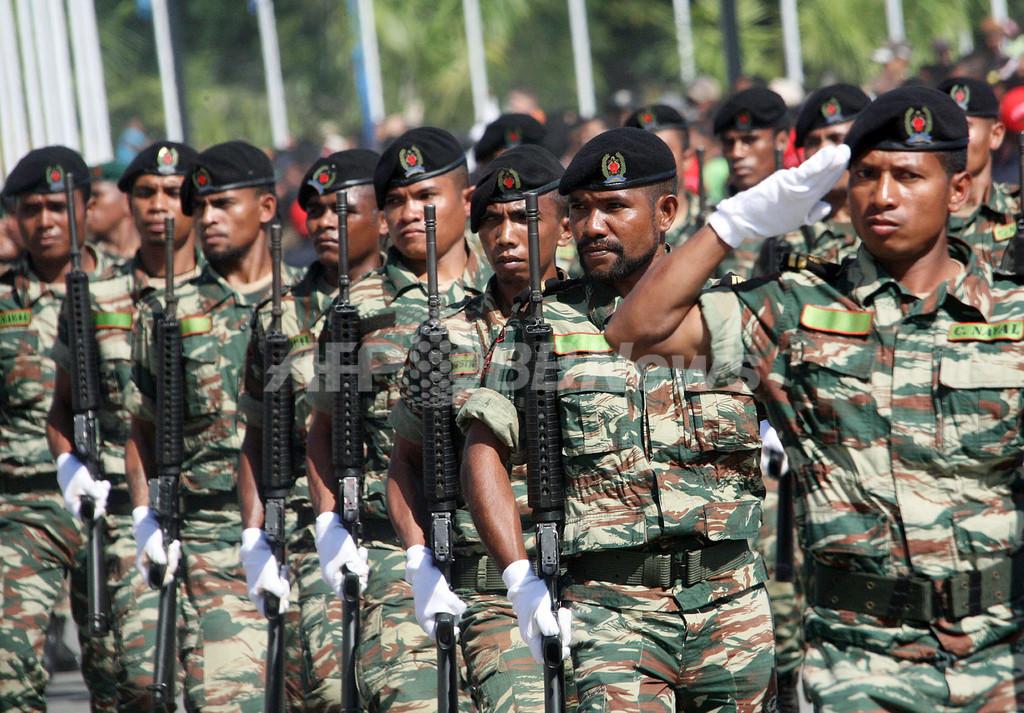 東ティモール、独立6周年 首都ディリで記念式典