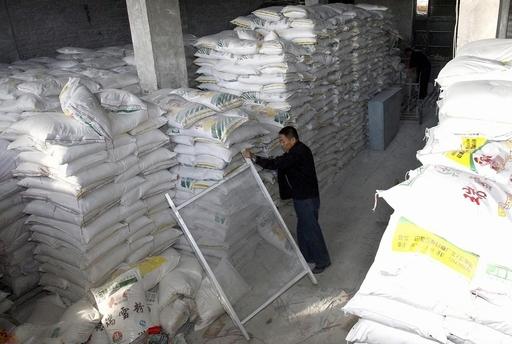 中国産小麦粉からメラミン検出、キルギス