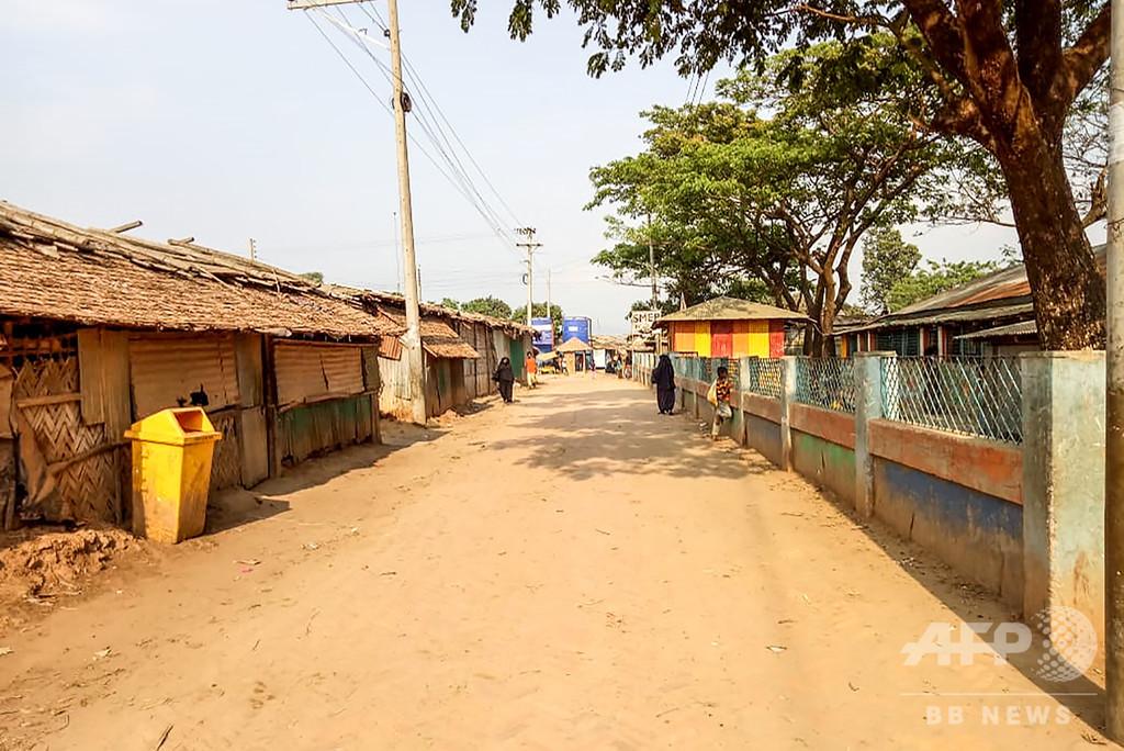 ロヒンギャ難民キャンプ、コロナ封じ込め成功 バングラ