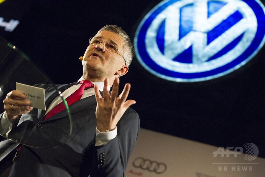 排ガス問題「2014年に認識」、VW米社長 公聴会で証言へ