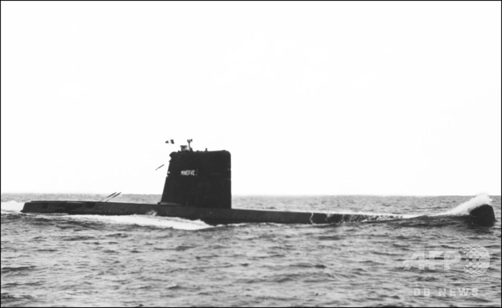 1968年に消息絶った仏潜水艦、地中海で発見 国防相発表