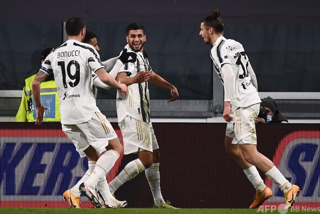 ユーベがイタリア杯8強 21歳MFがデビュー戦で決勝点