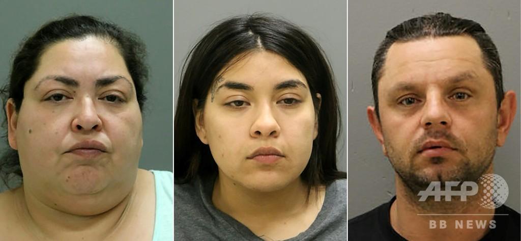 10代妊婦を殺害し胎児取り出す、米シカゴで男女3人を逮捕