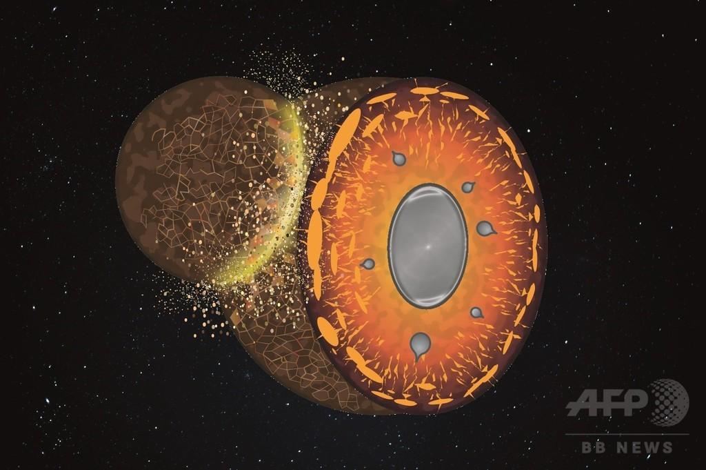 地球の組成、隕石の衝突浸食で変化か 仏研究