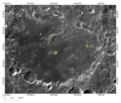 嫦娥4号の着陸地点、「天河基地」と命名