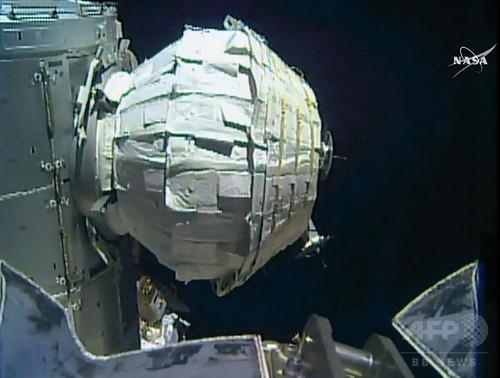 膨らませて使うモジュール、ISSでの試験に成功 NASA