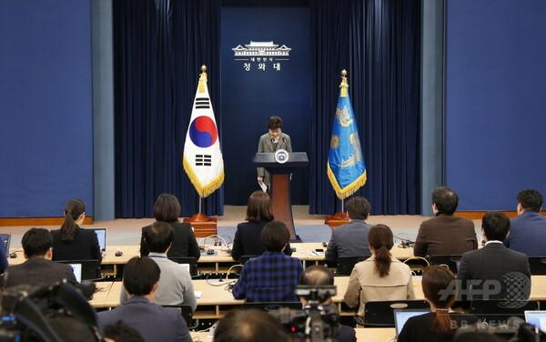 朴大統領弾劾案、9日に採決=8日午後に国会報告-韓国
