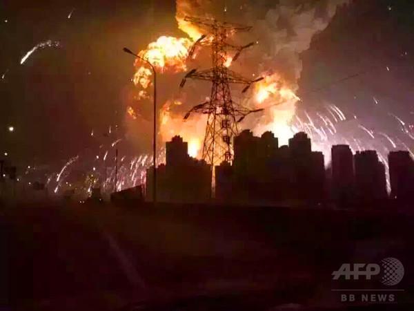 【写真特集】中国・天津で大規模爆発、死傷者800人超