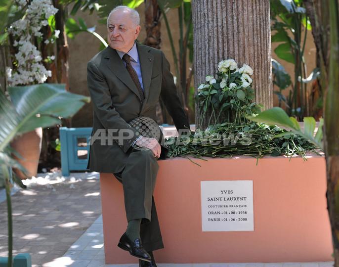 マジョレル庭園に還ったサンローラン氏の遺灰、ベルジェ氏語る