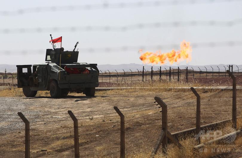クルド独立の夢遠のく、イラク軍がキルクークの油田制圧