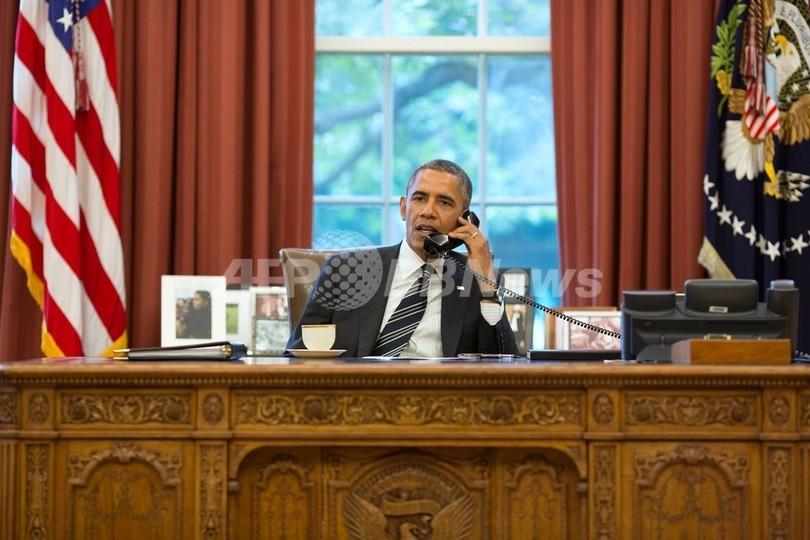 米とイランの大統領が電話会談、イラン革命後初の直接接触