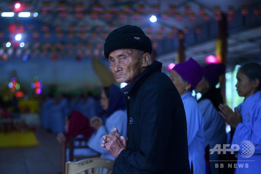 【今日の1枚】ハンセン病施設で過ごす人たち ベトナム