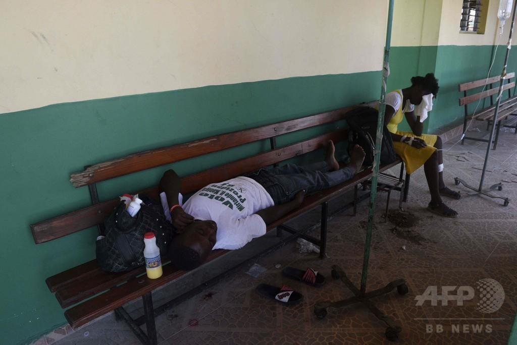 ハリケーン直撃のハイチ、南部でコレラ感染拡大