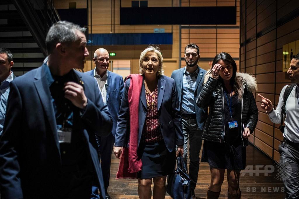 仏ルペン氏の個人秘書、背任で訴追 欧州議会から資金流用疑い