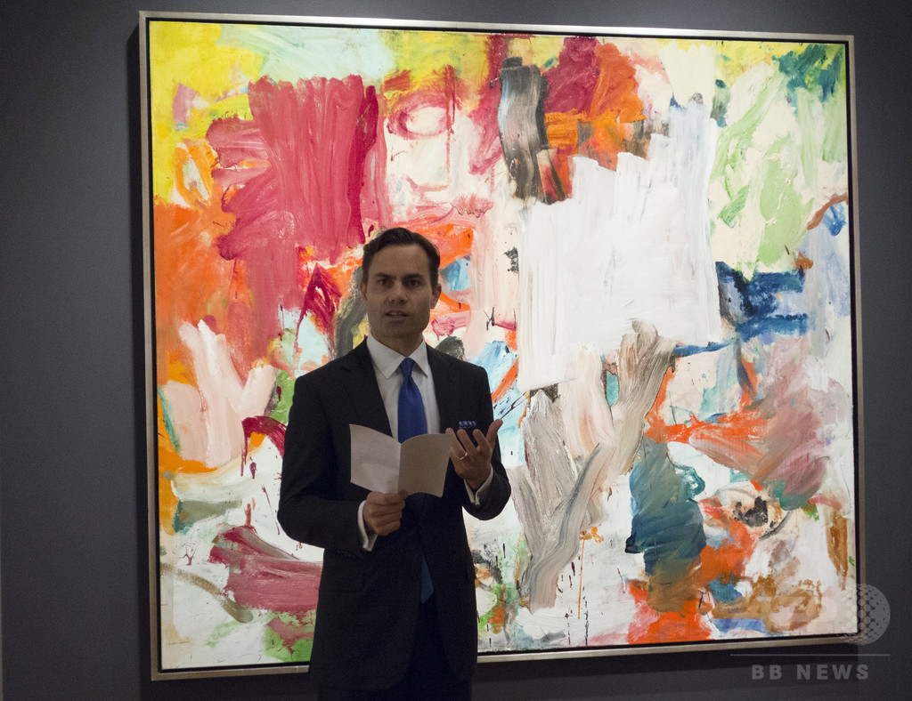 ウィレム・デ・クーニングの作品、72億円で落札