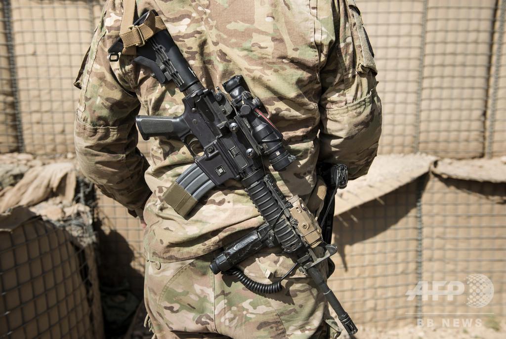 アフガンで自爆攻撃、米兵など7人死傷 タリバンが犯行声明