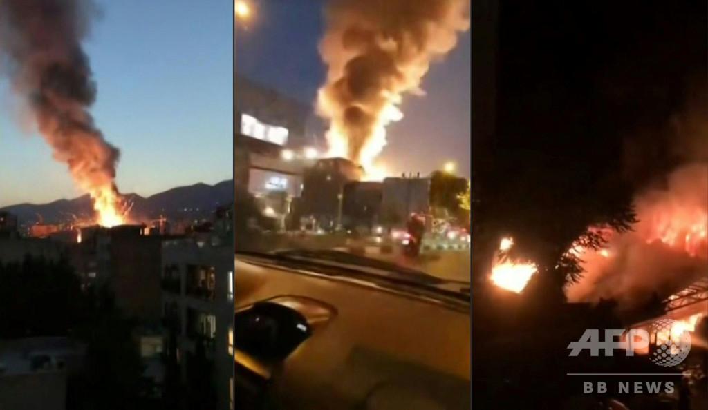 イラン首都の診療所で爆発、19人死亡 ガスボンベが引火か
