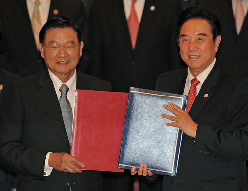 中国と台湾、経済協力枠組み協定を締結