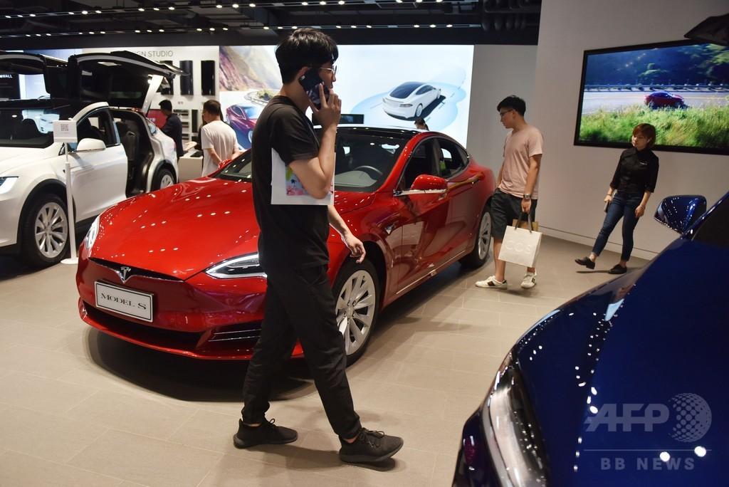テスラ、電気自動車の現地生産を中国・上海で計画