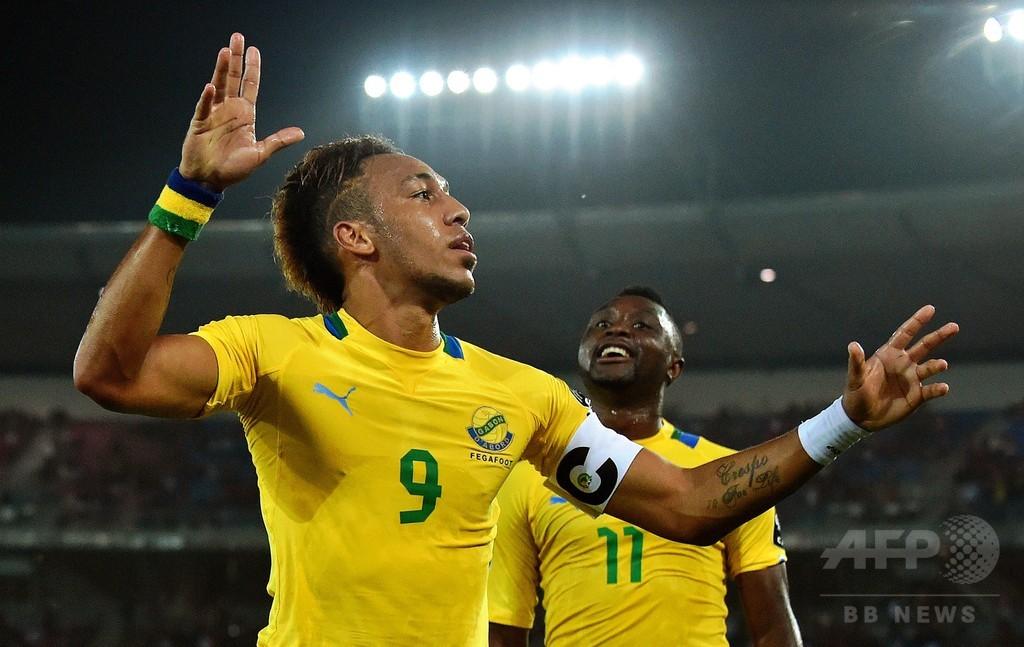 ガボン、大会初戦でブルキナファソに快勝 アフリカネイションズカップ