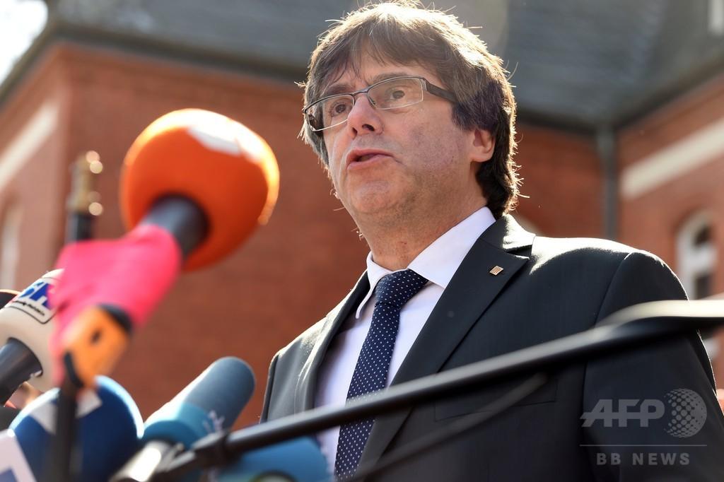 プチデモン氏、カタルーニャ州首相候補への指名を拒否 後継者を指名