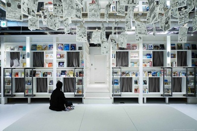 泊まれる本屋「ブック アンド ベッド トーキョー」大阪・心斎橋にオープン