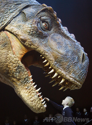 T・レックスは何色?絶滅爬虫類の皮膚色素を特定、研究